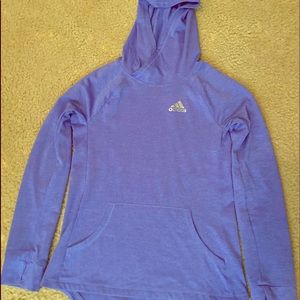 Girls large Adidas lightweight hoodie